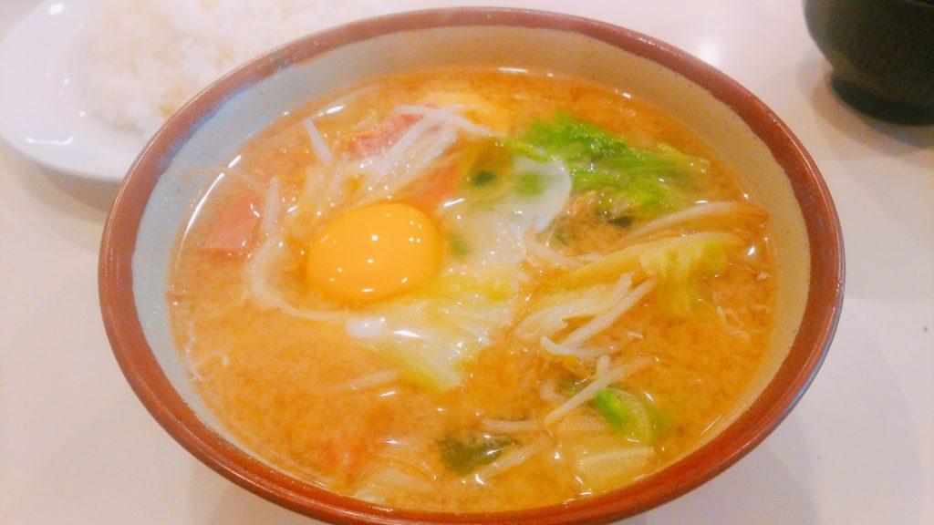 三笠味噌汁