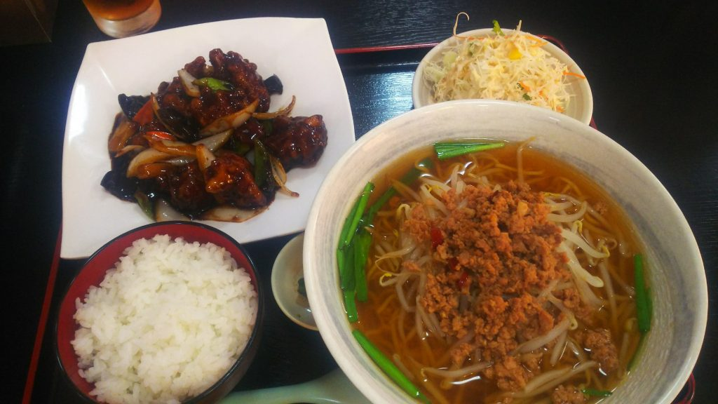 福楽黒酢豚1