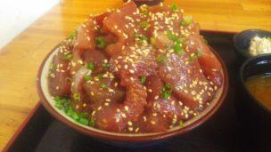魚まるてんこ盛り丼1