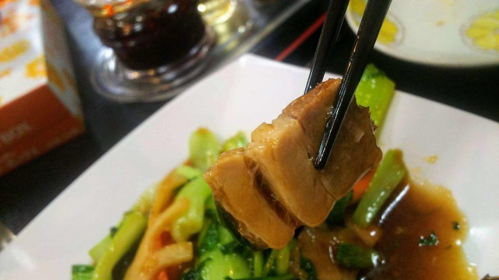 福楽豚バラ青梗菜ランチ7