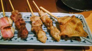 鶏坊串焼き1
