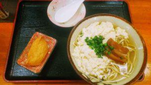 みーや小ゆし豆腐そば1