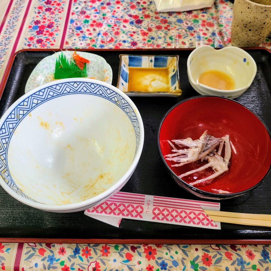 優秀海鮮丼完食