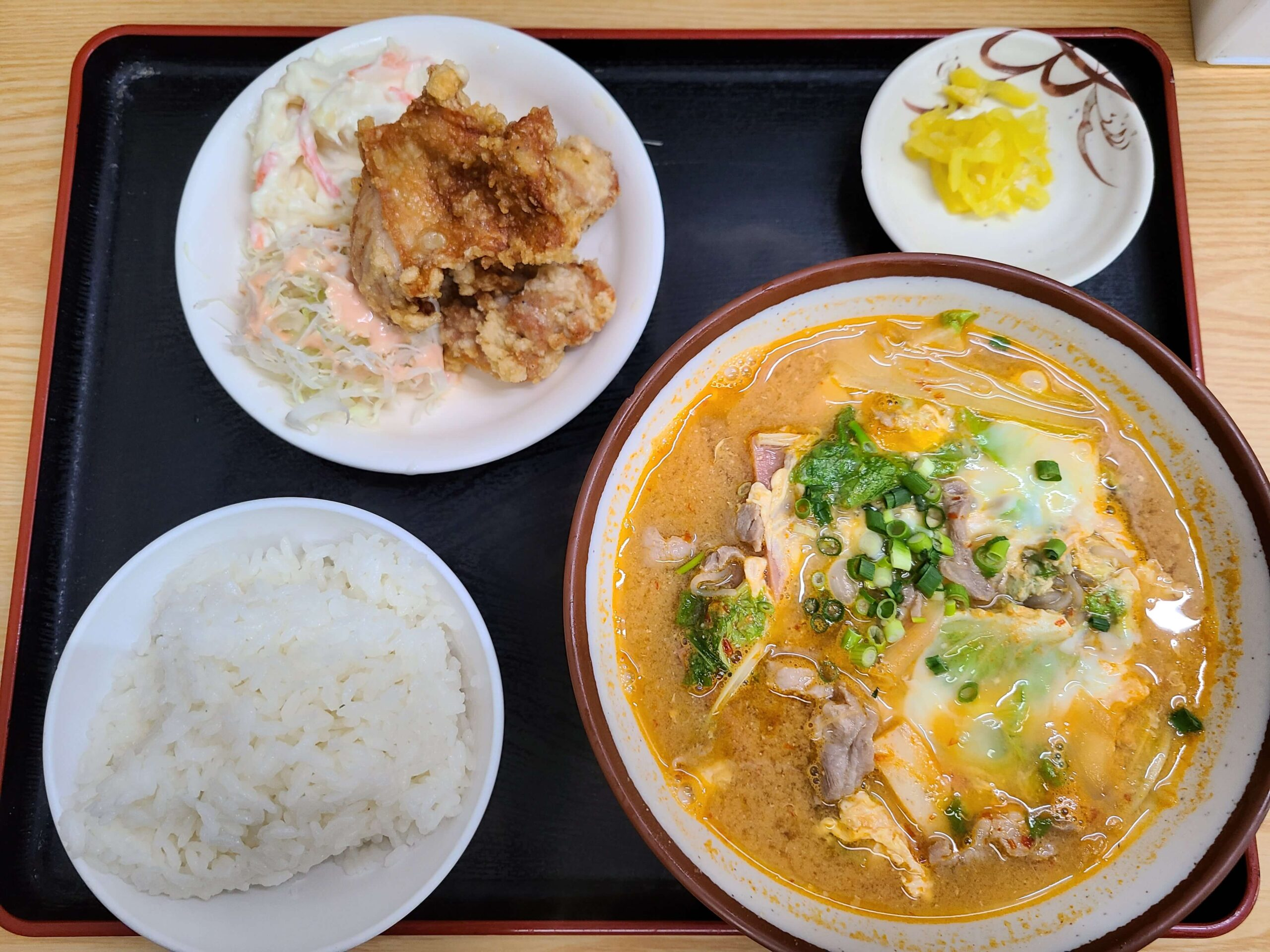 最強食堂韓国風味噌汁