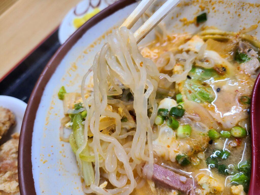 最強食堂韓国風味噌汁しらたきIN