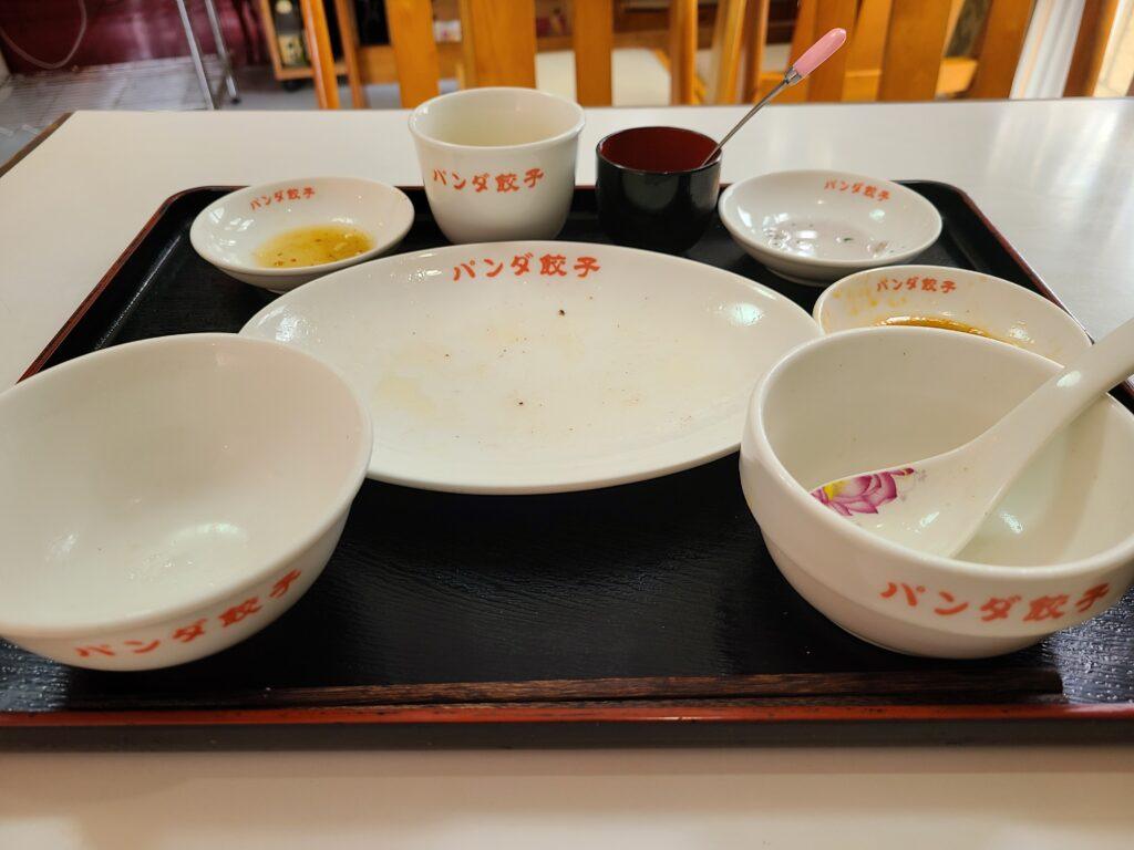 ぱんだお皿