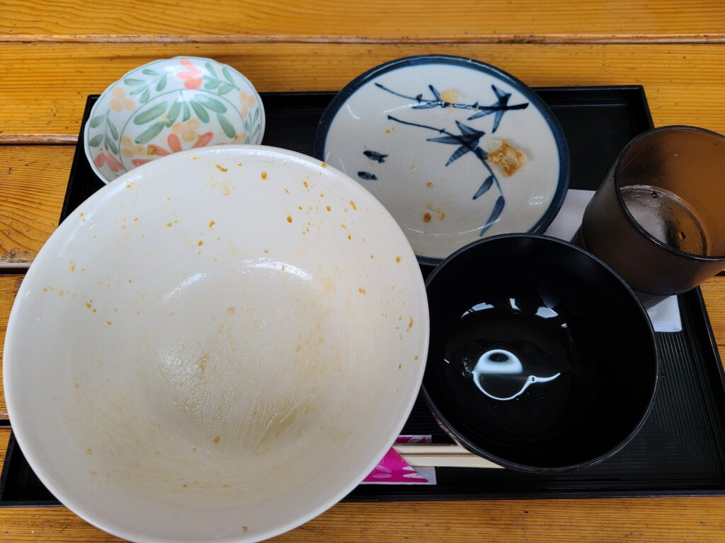 太陽天丼大完食
